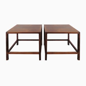Scandinavian Rosewood Coffee Tables from Aksel Kjersgaard, 1950s, Set of 2