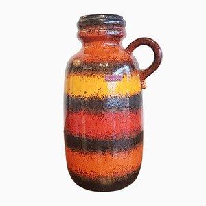 Nr. 413/26 Striped Vase from Scheurich, 1970s