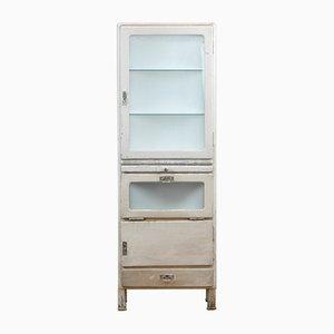 Vintage Wooden Medical Cabinet, 1940s