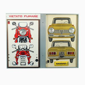 Vietro Fumaro Light Panel, 1970s
