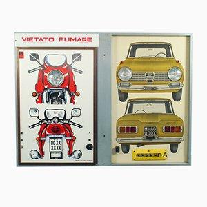 Vietro Fumaro Light Panel, 1970s