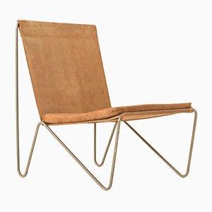 Dänischer Bachelor Stuhl von Verner Panton für Fritz Hansen, 1950er