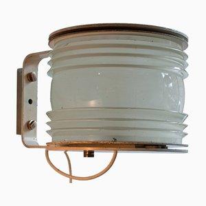 Mid-Century Fresnell Wandlampen von Joe Colombo für Oluce, 1960er, 2er Set