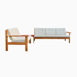 Sofas von Knoll Antimott, 1960er, Set of 3
