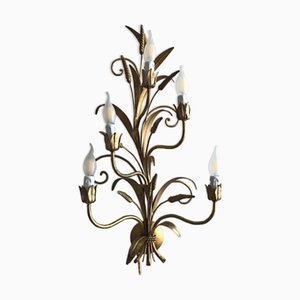 German Wheat Decor Sconce by Hans Kögl, 1960s