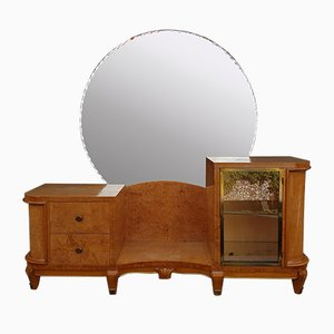 Sycamore Veneer Dressing Table, 1940s