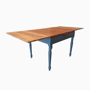 Table de Salle à Manger Antique à Rallonge