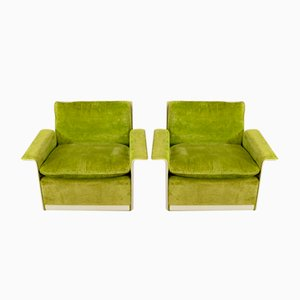 Model 620 Easy Chairs by Dieter Rams for Vitsœ, 1970s, Set of 2