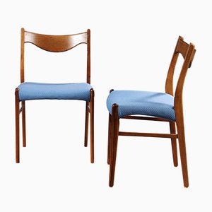 Model GS61 Rosewood Dining Chairs by Arne Wahl Iversen for Glyngøre, 1960s, Set of 6