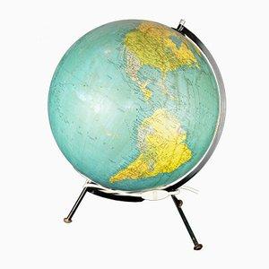 Globus aus Kristallglas von George Philip & Son, 1970er