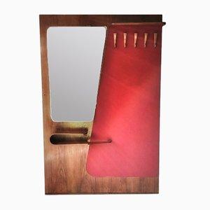 Conjunto de pared vintage con espejo de ULUV, años 60