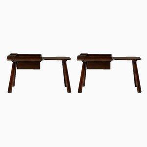 Side Tables by Ericson Taserud, Sweden, 1963, Set of 2