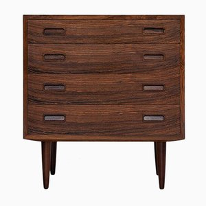 Mid-Century Danish Rosewood Chest of 4-Drawers from Hundevad, 1960s