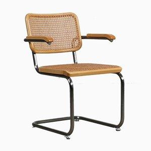Bauhaus Beech S64 V Cantilever Chair by Marcel Breuer for Thonet, 1990s
