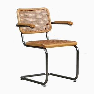 Bauhaus Beech S64 Cantilever Chair by Marcel Breuer for Thonet, 1990s
