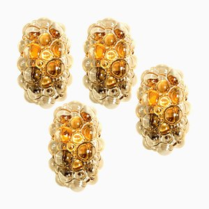 Amber Bubble Wall Sconce by Helena Tynell, 1960s