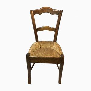 Antike Louis Philippe Esszimmerstühle, 4er Set