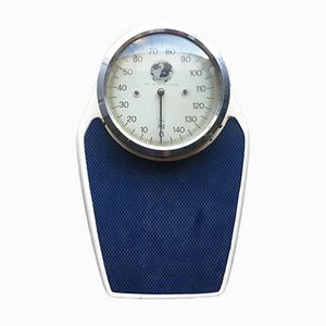 Mid-Century German Stainless Steel Dial Bathroom Scales from Erlikon, 1950s