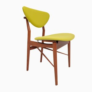 Danish Walnut Model 108 Dining Chair by Finn Juhl for One Collection, 2000s