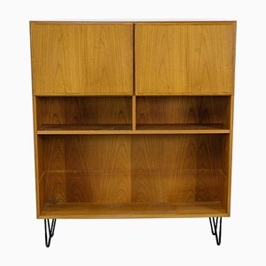 Vintage Danish Teak Bookshelf from Omann Jun, 1960s