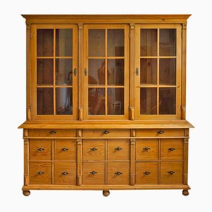 Antique Apothecary Display Cabinet or Kitchen Cabinet, 1900s