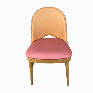 Chaises d'Appoint Mid-Century Tonneau, 1950s, Set de 6