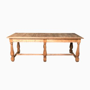 19th Century French Oak Farmhouse Dining Table