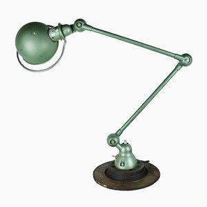 Lampe de Bureau à 2 Bras par Jean-Louis Domecq pour Jieldé, 1950s