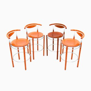 Bar Stools from Hutten, 1990s, Set of 4