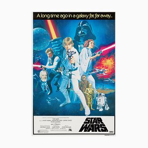 Star Wars Poster by Tom William Chantrell, 1977
