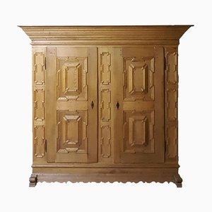 Antique Oak Wood Cabinet