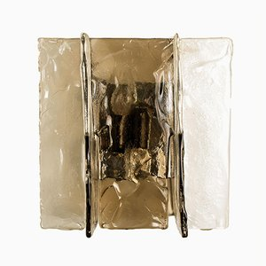 Aplique de cristal de Murano de Carlo Nason para Mazzega, años 60