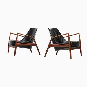 Sälen Seal Chairs von Ib Kofod-Larsen für OPE, 2er Set