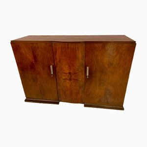 Art Deco Walnut Veneer Buffet, 1920s