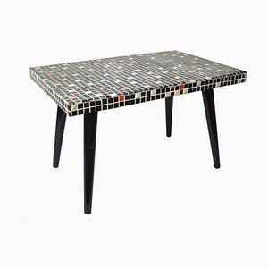 Tavolino Mid-Century a forma di fagiolo con mosaico, Germania, anni '50
