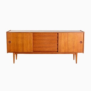 Mid-Century Teak Sideboard by Nils Johnsson Troeds for Hugo Troeds, 1960s
