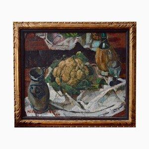 Naturaleza muerta con coliflor de Médard Maertens, 1944