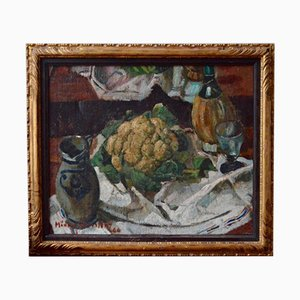 Still Life with Cauliflower by Médard Maertens, 1944