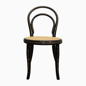Sedie da bambino antiche in legno curvato di Michael Thonet per Gebrüder Thonet Vienna GmbH, fine XIX secolo, set di 2