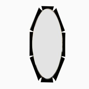 Mid-Century Oval Mirror from Campo e Graffi