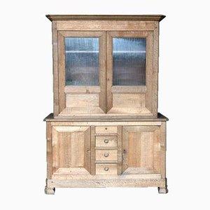 French Bleached Oak Double Body Cabinet