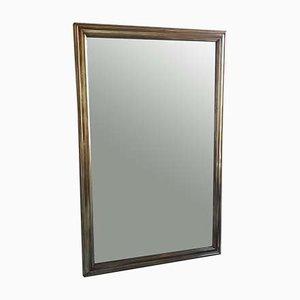 Antiker Spiegel mit Messingrahmen, 1900er