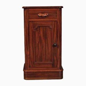 Muebles victorianos antiguos de caoba. Juego de 2