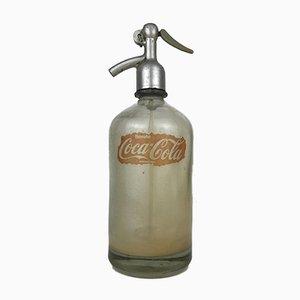 Bottiglia da sifone Soda a forma di Coca-Cola, Italia, anni '60