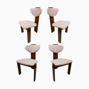 Mid-Century Brutalist Dining Chairs, 1950s, Set of 4
