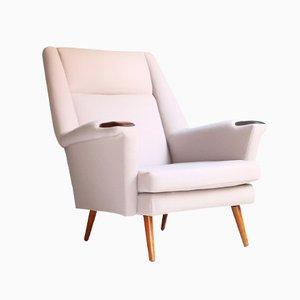 Dänischer Sessel mit nachhaltigem Bezug