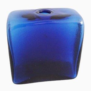 Deutsche Blaue Vase von Klaus Breit Wiesenthalhütte, 1970er