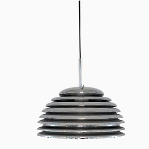 Vintage Space Age German Saturno Pendant Lamp by Kazuo Motozawa for Staff, 1970s