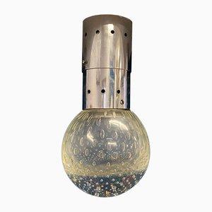 Deckenlampen und Wandlampen aus Glas von Gino Sarfatti für Arteluce, 1950er, 7er Set