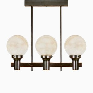 Large Mid-Century Pendant Lamp